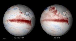 """El cambio climático hace al """"Niño"""" cada vez más intenso"""