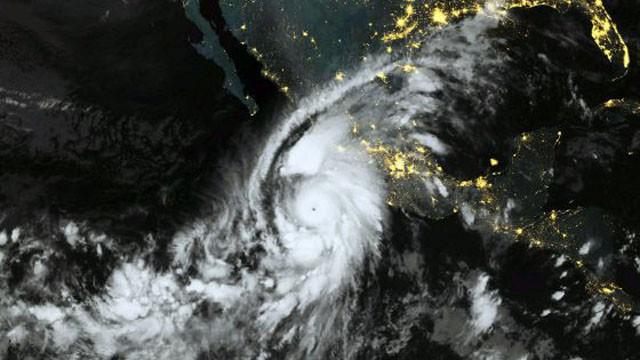 Huracán Patricia en el 2015
