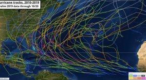 El cambio climático está cambiando el comportamiento de los huracanes