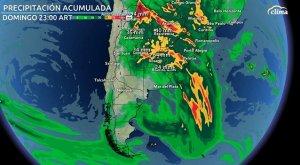 Alerta por tormentas muy fuertes en gran parte de Argentina
