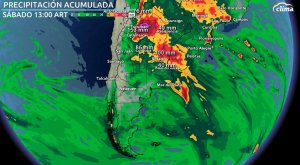 ¡Argentina bajo el agua! Toda esta lluvia caerá en próximos días