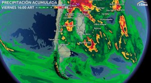 Alerta roja en Buenos Aires por lluvias extremas