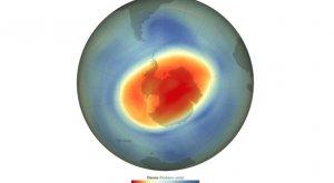 El agujero de la capa de ozono se cierra con récord