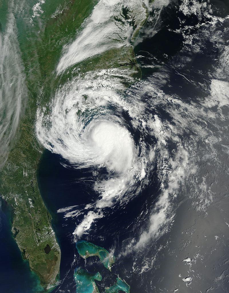 Tormenta Tropical Ana en mayo del 2015.
