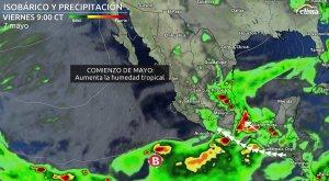 Comienzo de mayo: Se abren las puertas de humedad