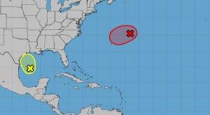 Centro Nacional de Huracanes vigila posible formación tropical junto a las costas de México