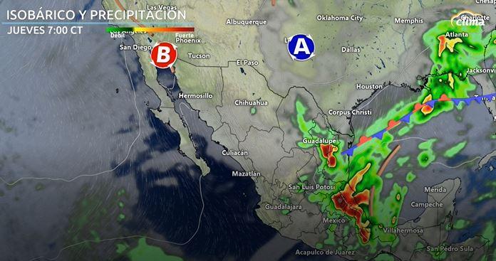 Tormentas fuertes a severas son probables desde el jueves por la tarde hasta la madrugada de viernes.