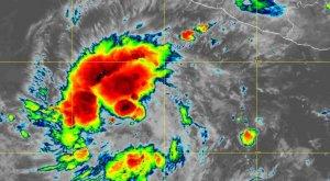 Se forma Tormenta Tropical Blanca al oeste de Colima. ¿Cuál será la trayectoria?