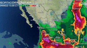 Ciclón Dolores toca tierra en México: Esta será la trayectoria
