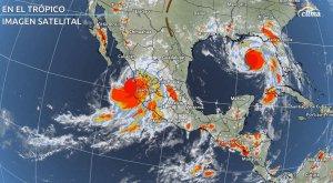 Huracanes Nora e Ida tocan tierra en México y Estados Unidos: Vea aquí sus trayectorias