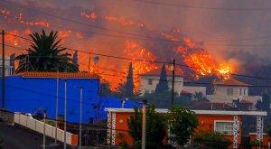 Infierno en La Palma (España) tras espectacular erupción