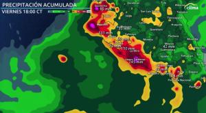 Pertubación tropical trae lluvias intensas a Guerrero, Jalisco