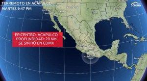 Fuerte terremoto de 7,1 sacude el centro de México