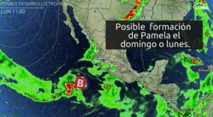 Se acabó la calma: Probable ciclón tropical al oeste de México