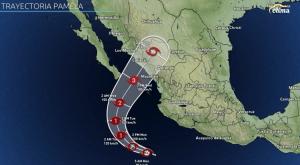 Pamela se intensificará a huracán categoría 3, Sinaloa en alerta